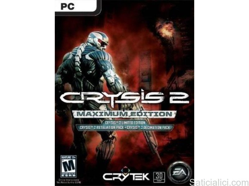 Crysis 2 Maximum Edition Origin Key GLOBAL Turkce - 1/6